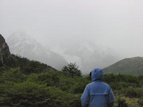 Photo: One last look a the glacier