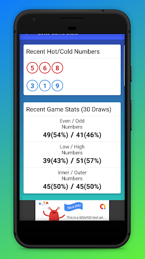 Lottery Ticket Scanner & Lotto Checker App Report on Mobile
