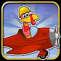 Crazy Turkey Run & Fun - Endless running game icon