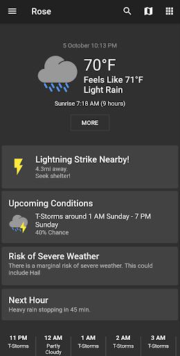 Shadow Weather screenshot 1