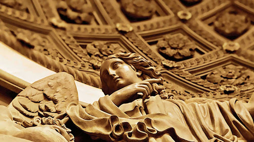 Azamara-St-Isaacs4-Russia.jpg - Sculpture in Saint Isaac's Cathedral in St.Petersburg, Russia.