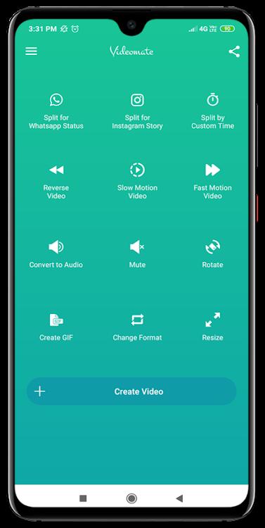 Videomate Split Video For Whatsapp Status Android