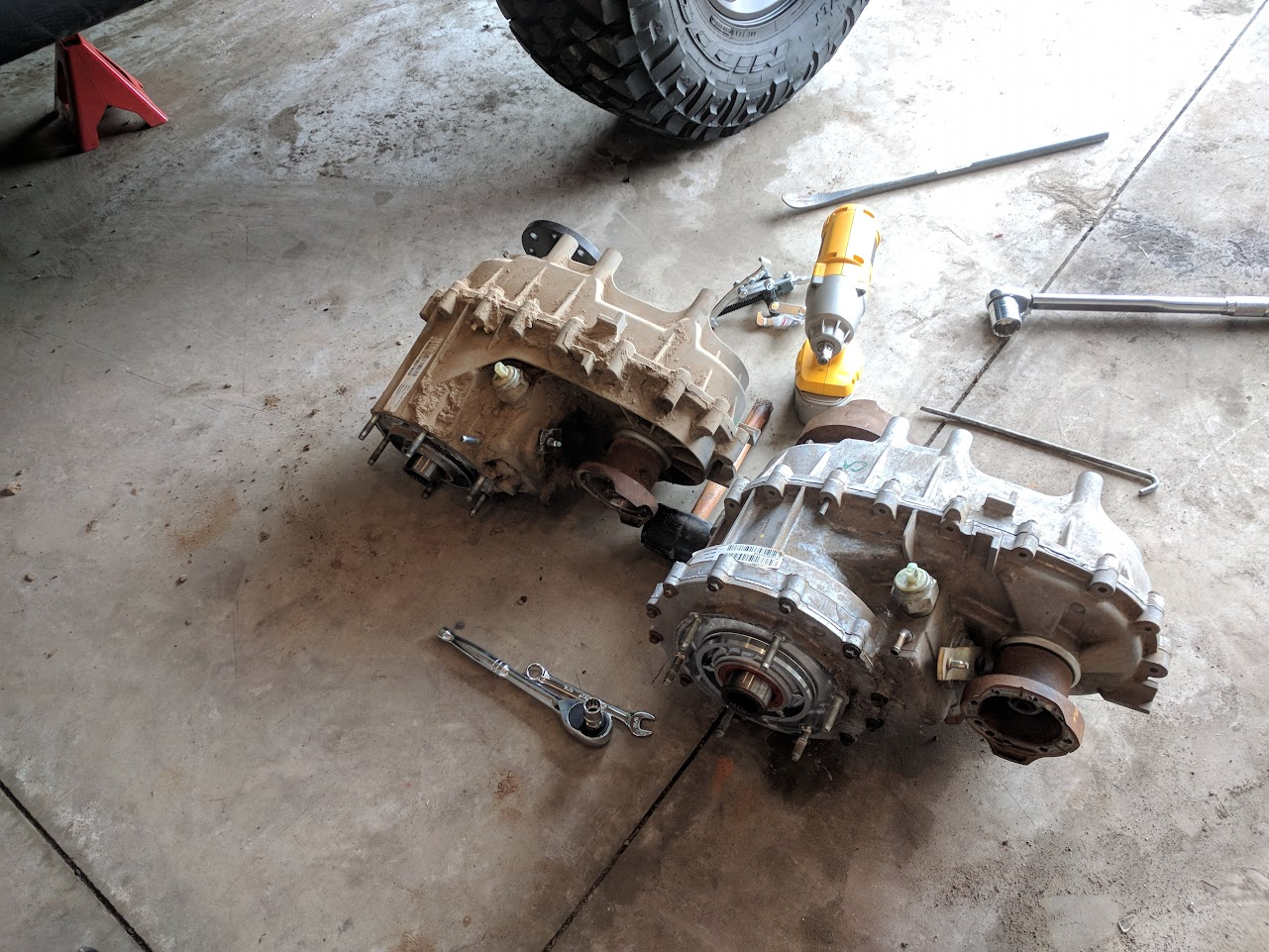 How To Transfer Case Swap Jeep Wrangler Forum