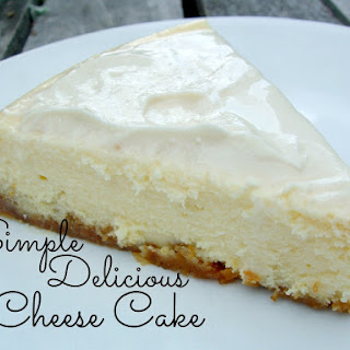 Simple Delicious Cheesecake