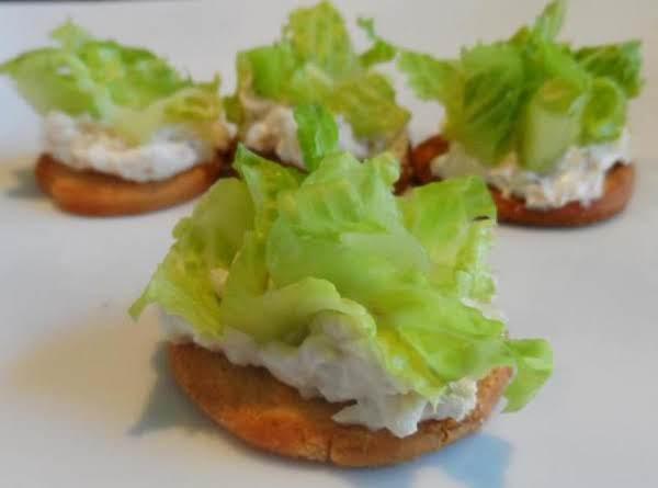 Chicken Caesar Salad Bites