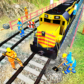 Indonesian Train Build & Driving: Craft Train Game