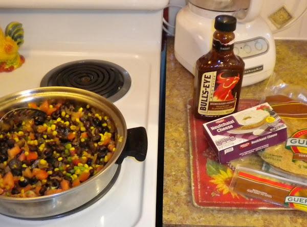 Poodle's Southwestern Roll-ups Recipe