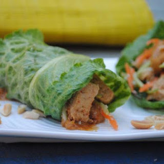 "Thai ""Chicken"" Wraps"