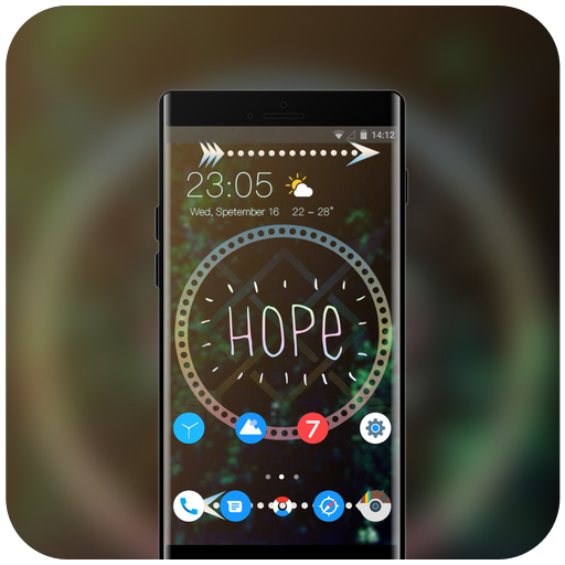 Theme for hope Pixel3 Xl wallpaper icon