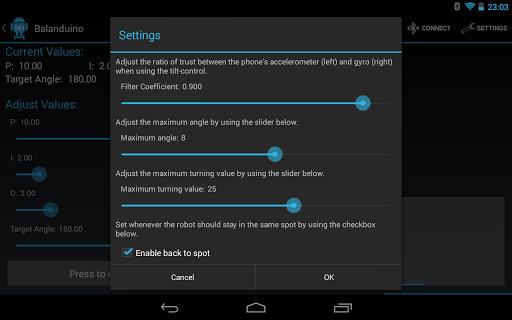 9cd841012c488c ... Balanduino Android App screenshot 14 ...