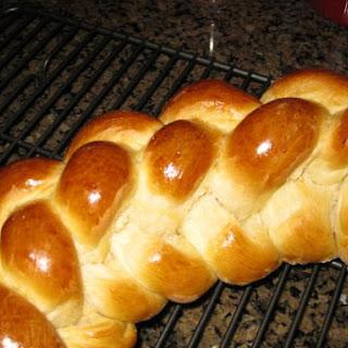 Challa Bread.