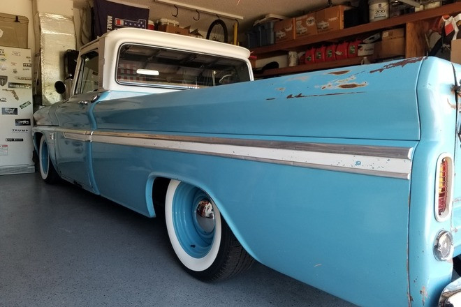 1966 Classic Chevy vintage longbed truck Hire FL