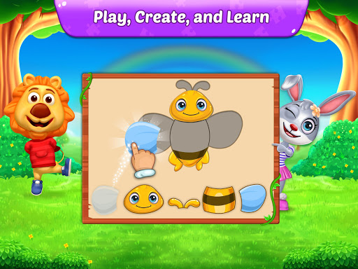 Puzzle Kids - Animals Shapes and Jigsaw Puzzles 1.0.6 screenshots 10