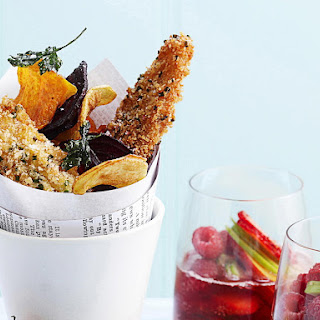 Fish and Vegetable Chips.