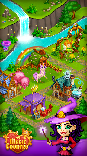 Magic City: fairy farm and fairytale country for Android apk 5
