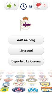 Logo Football Club Quiz- screenshot thumbnail
