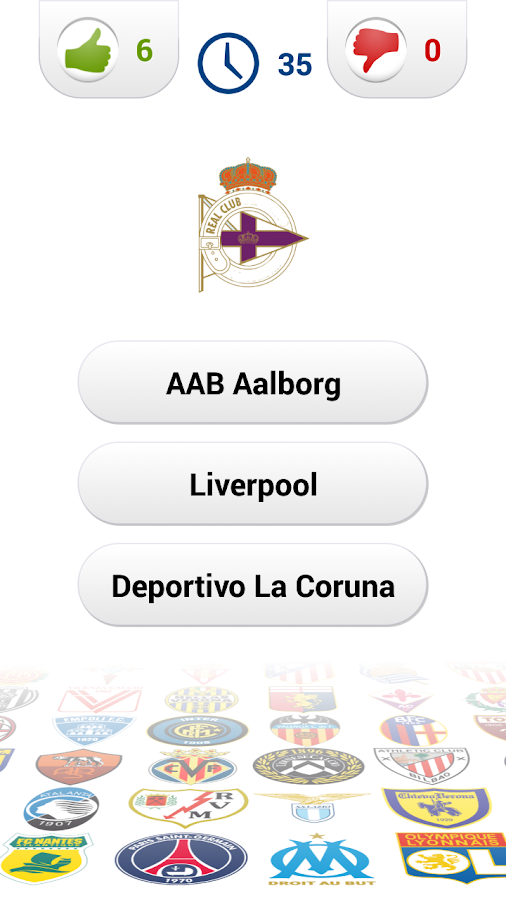 Logo Football Club Quiz- screenshot