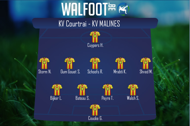 KV Malines (KV Courtrai - KV Malines)