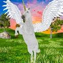 Flying Horse Simulator 2021 – Baby Unicorn Games icon