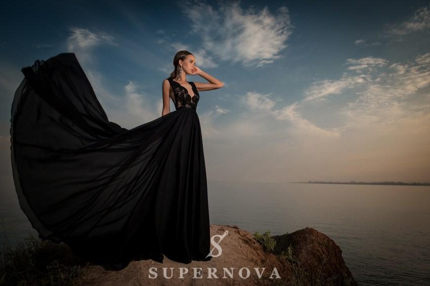 вечерние платья со шлейфом фото