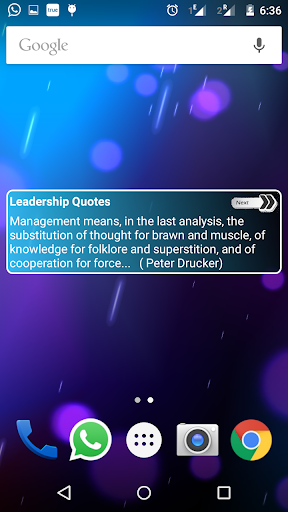 Leadership Quotes Widget App