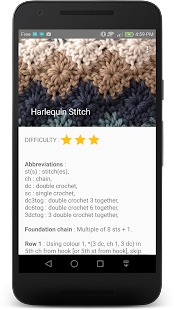 Crochet Stitches- screenshot thumbnail