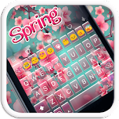 Spring Emoji Keyboard Theme