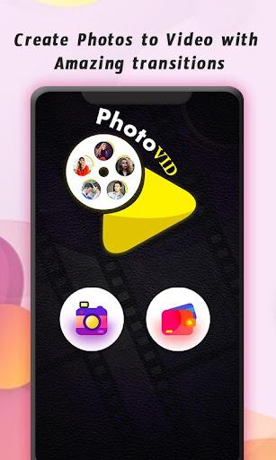 PhotoVid - Photo Video Maker con capturas de pantalla de música 1