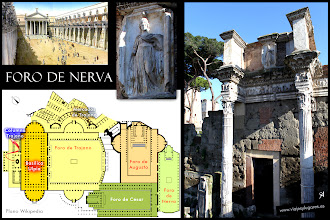 Photo: 13: El Foro de Nerva fue el más pequeño de los foros imperiales, iniciado por el emperador Domiciano y finalizado por su sucesor, Nerva. Domiciano decidió colocar en el foro el Templo de Minerva, en honor de su diosa patrona.