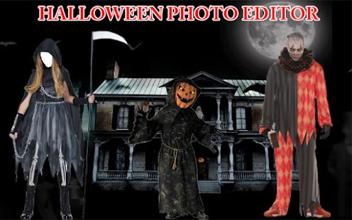 Halloween Photo Frame - Face Fun - náhled