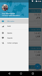 App in the Air: miniatura de captura de pantalla