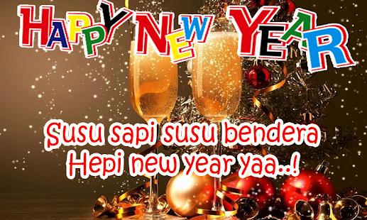 Kata Ucapan Tahun Baru - náhled