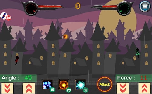 Stickman ball : ghost wars - náhled