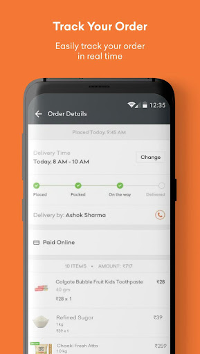 Grofers-grocery delivered safely with SuperSavings 5.5.54 screenshots 8