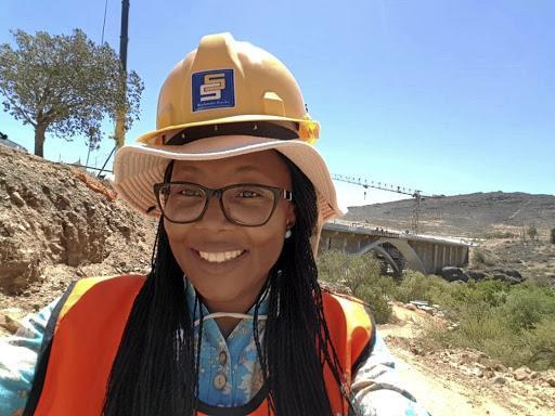 Civil engineer Nontobeko Mathenjwa.