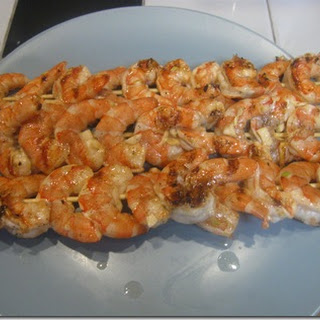 Garlic Shrimp Skewer
