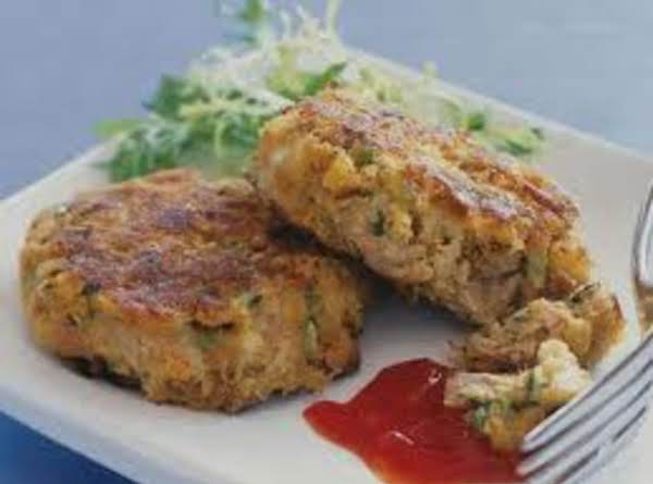 Seafood Latkes With Sweet Red Bell Pepper Sauce