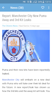 Manchester City News - The Citizens for PC-Windows 7,8,10 and Mac apk screenshot 3
