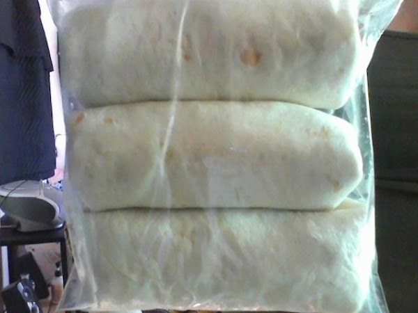 Ready To Eat Frozen Burritos Rhonda's Recipe