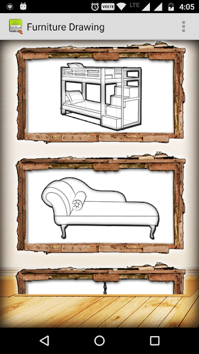 玩免費遊戲APP|下載Furniture Drawing app不用錢|硬是要APP