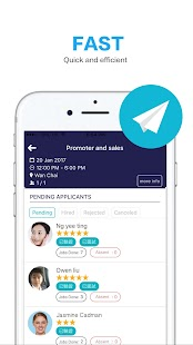 GoGENIE: Hire & Find Jobs - náhled