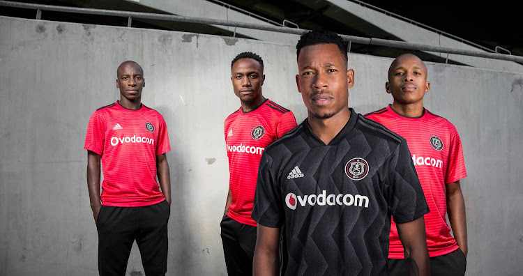 bb07c442 Rivals Kaizer Chiefs and Orlando Pirates unveiled their new jerseys