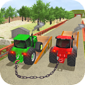 Chained Tractors 3d