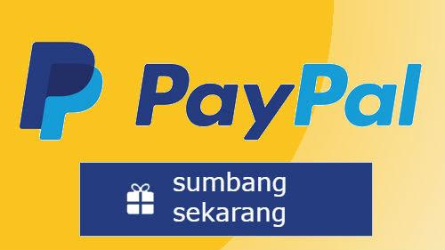 PayPal Sumbang Sekarang