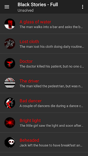 Black Stories - Full app for Android screenshot