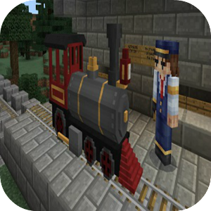 Train Station Mod for MCPE 1.0 Icon