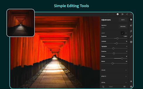 Adobe Lightroom CC Mod Apk 5.2.1 (Premium Unlocked + No Ads) 10