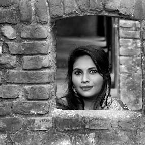 Frame by Frame by Iqbal Kabir - Black & White Portraits & People