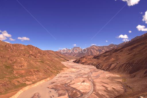 The Cold Desert Ls India Mountains Hills Landscapes Pixoto