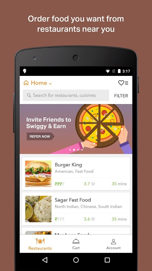 Swiggy Food Order & Delivery- screenshot